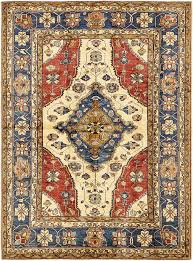 area rugs one of a kind alayna hand knotted wool red