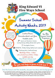 king s norton boys on twitter excellent summer activities available from kefw this summer book early as place are limited
