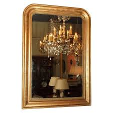 antique french gold leaf louis philippe mirror