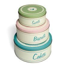 Retro Kitchen Accessories Hello Autumn Cute Cake Tins For Winter Baking Beckys Boudoir