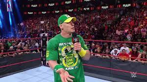 John Cena gooit zijn uitdaging voor WWE ...