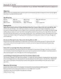 Esthetician Cover Letter Examples Best Resume Example Esthetician