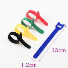 computer cable tie promotion shop for promotional computer cable 1000pcs 5 colors can choose magic tape wiring harness tapes velcro cable ties tie cord computer cable earphone winder cable ties