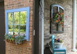 vintage window frames for outdoor ideas