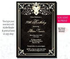 50th Anniversary Party Invitations Wedding Anniversary Party Invitations Zoli Koze