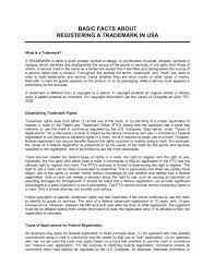 Guide for Registering a Trademark USA - Template & Sample Form ...