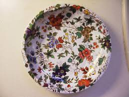 Daher Decorated Ware Tray Made In England Vintage Daher Decorated Ware Round Tin 60 Floral Serving Tray 27