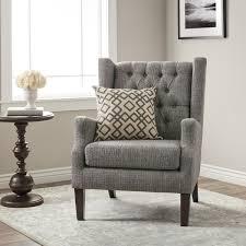 cheap tufted chair. Plain Chair Stones U0026amp Stripes Maxwell Grey Tufted Wingback Chair And Cheap