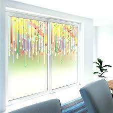 glass decal stain glass decal flowers decorative stained glass wall sticker home window decor window glass decal