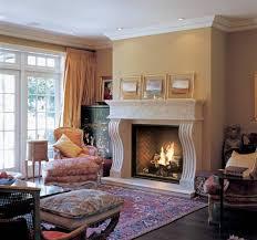 indoor outdoor see thru gas fireplace ideas