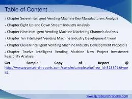 Vending Machine Trends 2015 Fascinating Global Intelligent Vending Machine Market 48 Industry Size Share