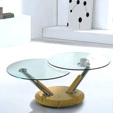 clear glass coffee table clear glass top coffee table in beech lincoln clear glass table with
