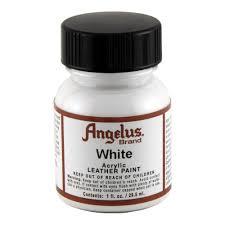 angelus leather paint 1 oz white