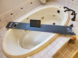 x large 46 60 x 8 bath tub tray custom