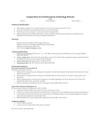 Sample Summary Statement Resume It Resume Summary Statement Examples Arzamas
