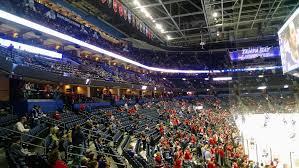 Amalie Arena Tampa Florida Seating Chart Amalie Arena Promenade Level Sides Hockey Seating