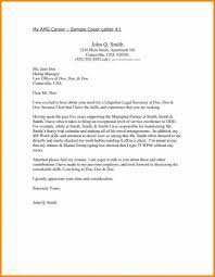 Resume Cover Letter Examples Lovely Employment Cover Letter Samples