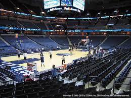 Fedexforum Seating Chart Memphis Tigers Fedexforum Seat Views Section By Section