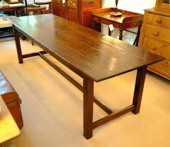 large wooden dining table long 8 foot wood at round reclaimed large wooden dining table