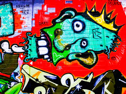 free images decoration red spray color colorful graffiti artwork street art urban art font face drawing creativity ilration head mural