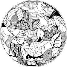 Coloriage De Mandala D Animaux A Imprimer Download Coloriage En