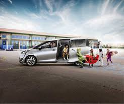 a picture of a toyota sienta family cars