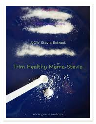 Thm Sweetener Conversion Chart Swerve Trim Healthy Mama Stevia Review Gwens Nest