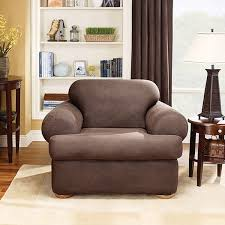 sure fit brown stretch t cushion 2