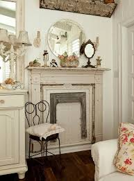 love using old fireplace surrounds this way