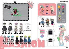 Splatoon 2 Brand Chart A Look Inside The Upcoming English Version Of The Art Of
