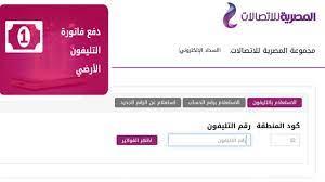 الاستعلام عن فاتورة التليفون الأرضي عبر موقع المصرية للاتصالات وطرق سداد  الفاتورة - ثقفني