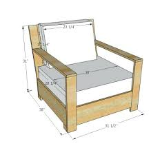 diy wood furniture plans furniture plan from free plans to build outdoor lounge chair inspired by restoration hardware chair diy wood adirondack chairs