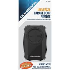 universal garage door openersChamberlain Clicker Universal Garage Door Remote Control  KLIK3U