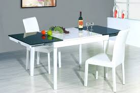 Kitchen Modern Table Set Round Sets Contemporary Glass White - Modern white dining room sets