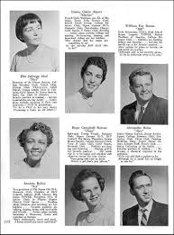nyack hs cl of 1955 yearbook senior cl pages princesses and princes
