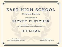 high school diploma templates printable templates  high school diploma templates printable templates