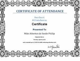 40 Printable Perfect Attendance Award Templates Ideas