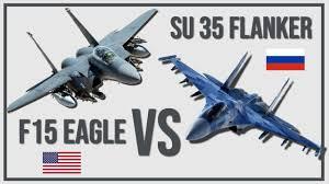 F 15 Eagle Vs Su 35 Flanker Which Would Win