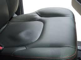seat leather breakdown