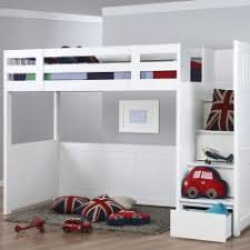 high bed with storage. Unique High Neutron High Sleeper With Stair Storage And Bed