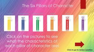 respect essay to copy six pillars of character education lesson   the pillars of character ppt six lesson plans thesixpillarsofchar six pillars of character lesson plans
