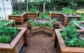 Small Picture Appealing Backyard Vegetable Garden Design Modern Decoration