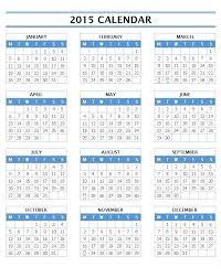 2015 Calendar By Month Template Gulflifa Co
