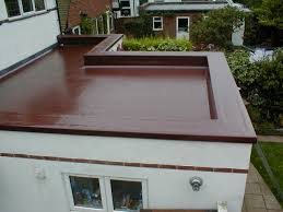 Solar Home Flat Roof Installing Insulation