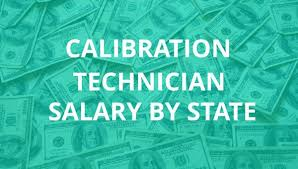 Calibration Technicians Calibration Technician Salary By State Calibration Jobs Pinterest