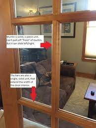 replace glass panel in interior door