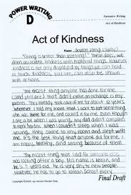 a simple act of kindness essays check out our top essays on act of kindness essay to help you write your