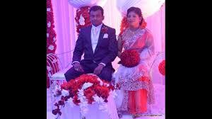 Sri lankan newly married couple