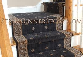 Stair Runner with Custom Landing