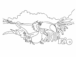Rio 2 For Coloring Pages - itgod.me